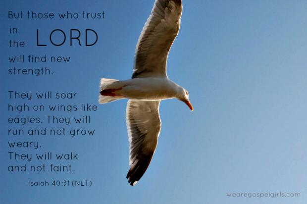 dose of hope - Isaiah 4031