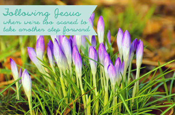 Following Jesus When we're Too Scared to Take Another Step Forward | Gospel Girls