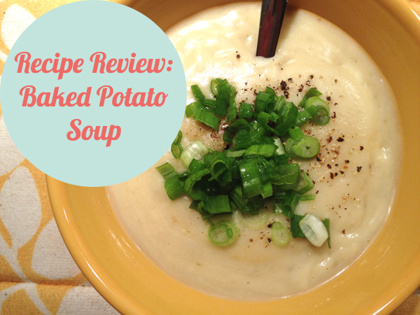 potato soup recipe review {gospel girls}