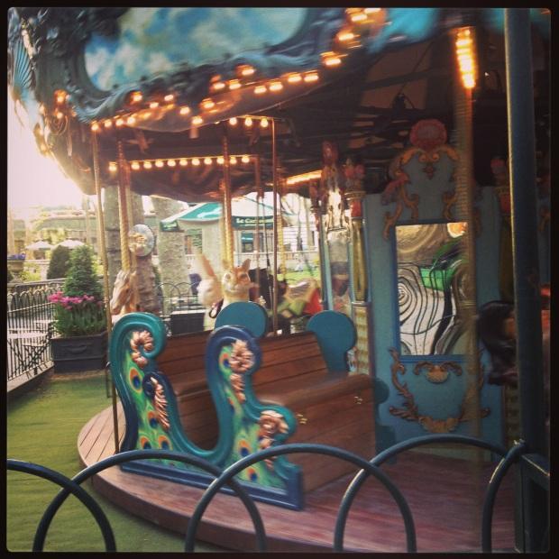 Bryant Park carousel