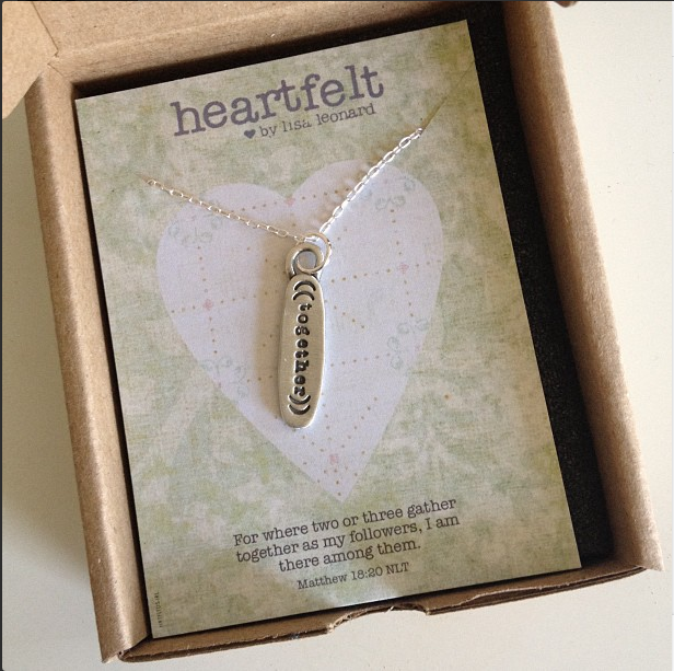 heartfelt necklace by lisa leonard