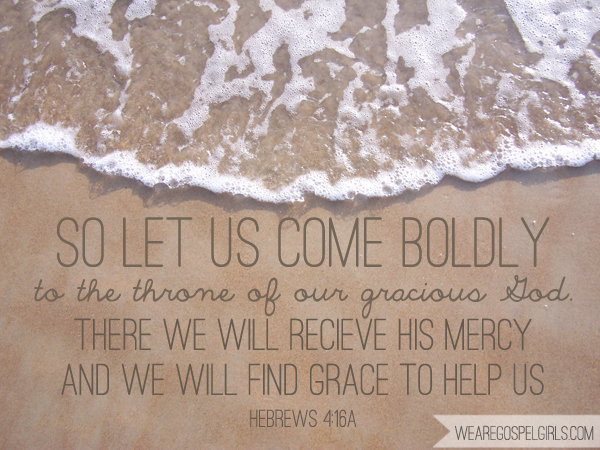 So let us come boldly to the throne of our gracious God... Hebrews 4:16a #dosesofhope