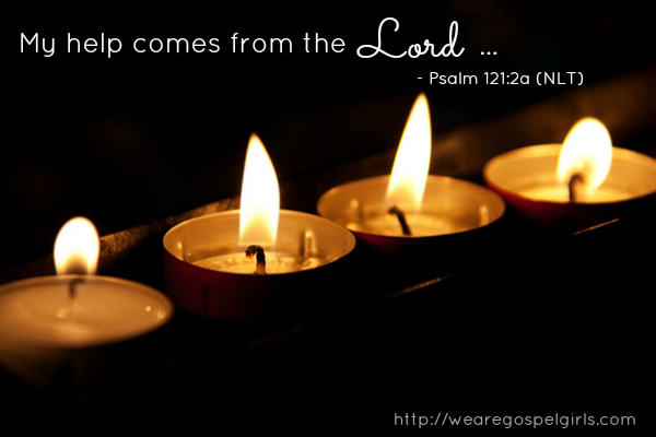 my help comes from the Lord {weekly dose of hope at wearegospelgirls.com}