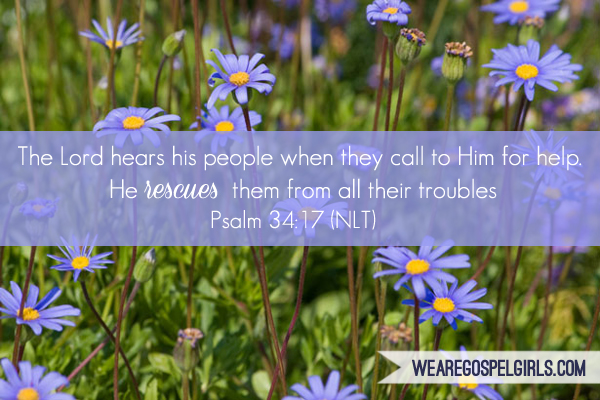 The Lord hears His people when they call to Him for help... Psalm 34:17 #dosesofhope