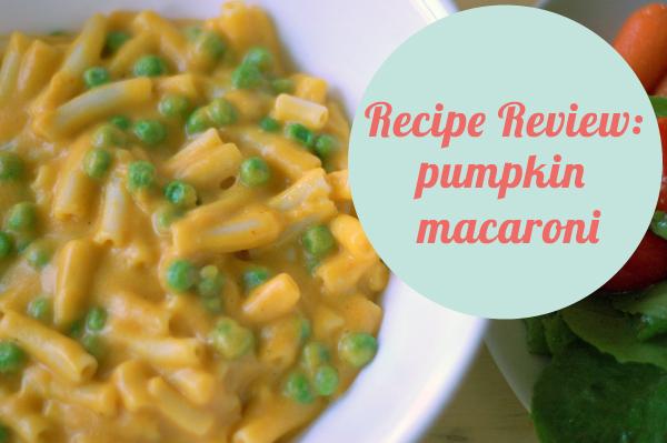 recipe review: gluten free pumpkin mac n' cheese {wearegospelgirls.com}