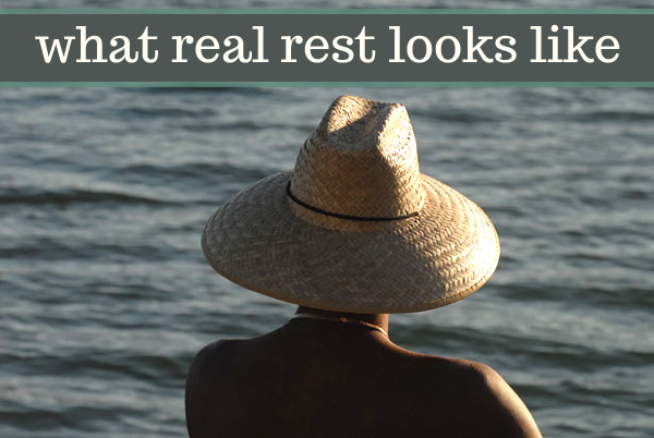 taking a look at what the Bible taught me about rest