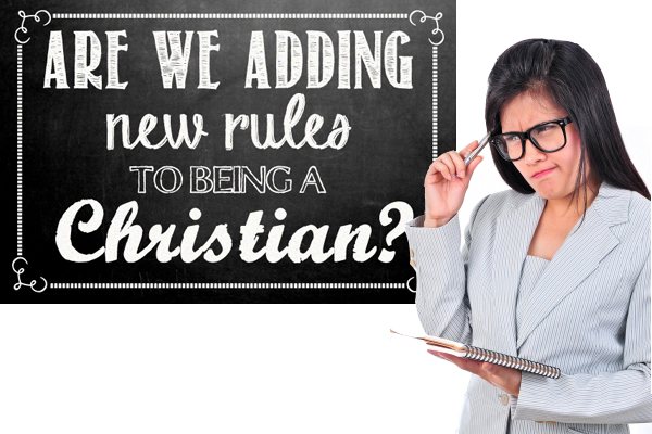 """Real talk, are we (accidentally) adding new rules to being a Christian when we pass around well-intentioned phrases like """"bloom where you're planted""""?"""