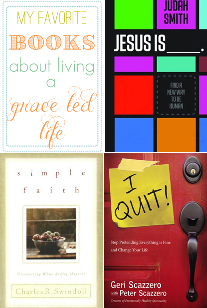 books about living a grace-led life