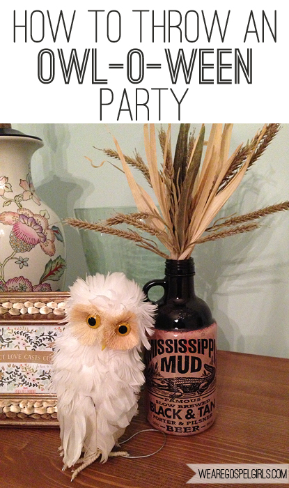How to throw an owl-o-ween party
