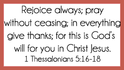 1 Thessalonians 5:16-18 printable memory verse card