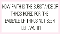 Hebrews 11:1 printable memory verse card