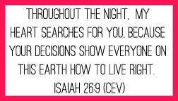 Isaiah 26:9 printable memory verse card