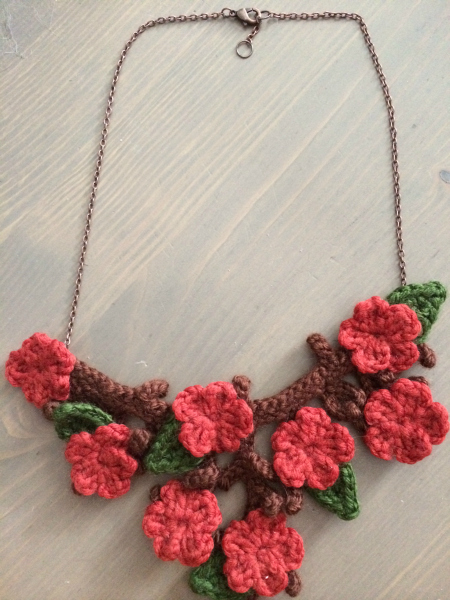 necklace by Courtney Cyr