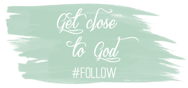 As most of us know, it's possible to go through life calling ourself a Christian without ever actually following Jesus.  But if we want to actually follow Christ, we have to get close. We have to know Him for the Lord and Savior He is, and we have to be close enough to Him to hear His voice as He leads us. #scripture #faith