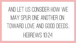 Hebrews 10:24 printable memory verse card