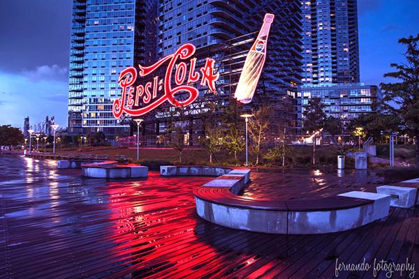 Long Island City Pepsi Cola Sign by Fernando Foto {fernandofotography.com}