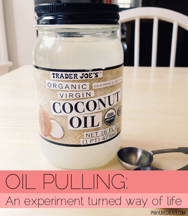 My experience with oil pulling started as experiment and turned into a way of life. Here's why I love it!
