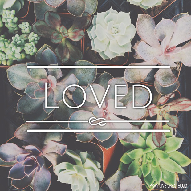 God's Word straight up says we are loved more than we can comprehend. {praylivecreate.com} #scripture #Bible #quotes
