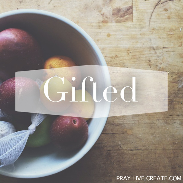 God calls us gifted. Looking at what His Word says about who He made us to be. {praylivecreate.com} #Bible #faith #quotes