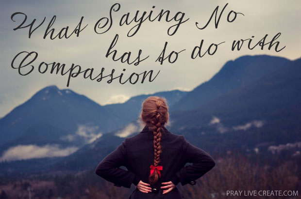 Of the many things that busyness steals from us, compassion is close to the top of the list. Who of us, when we're stretched thin, has time to enter into another's pain? Writing about compassion at praylivecreate.com